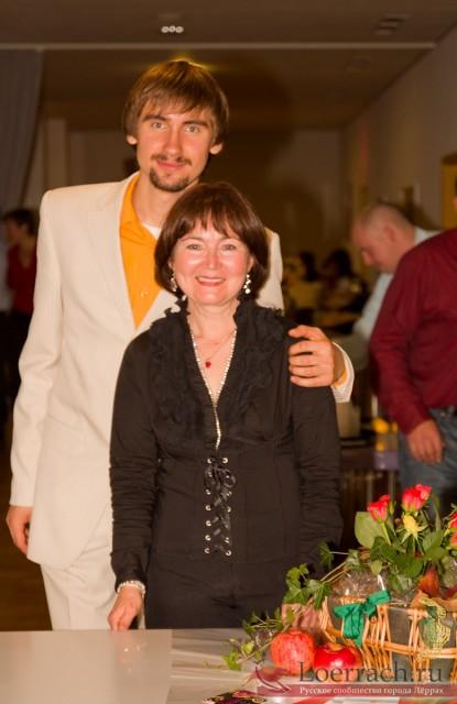 Осенний бал 2010 в Лёррахе. Жанна Энс и Егор Булат.