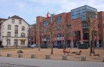 Одна из центральных детских игровых площадей Лёрраха.
