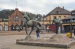 Привокзальная площадь города Лёррах