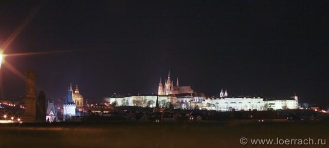 Ночная Прага