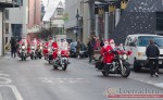 Деды Морозы на Harley Davidson в Лёррахе